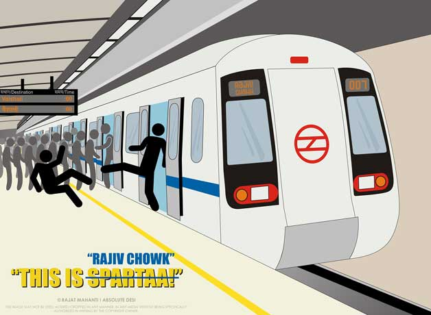 how to carry weed in delhi metro