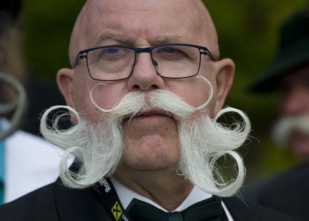 Beard And Moustache Championship 2015 Buffalo Horns To