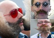 Buffalo horns to pencil moustache: The Beard and Moustache Championship saw it all!