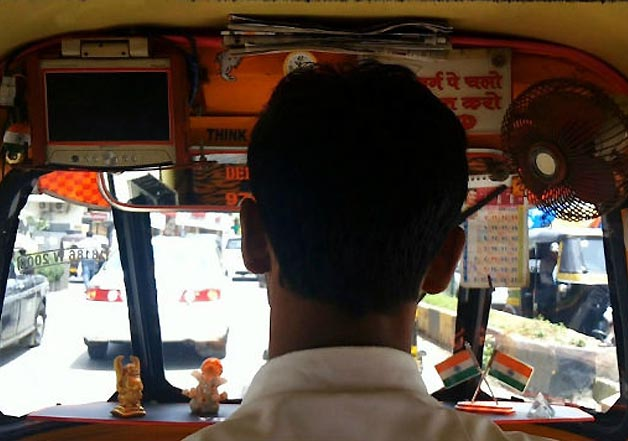 auto rickshaw wala in india