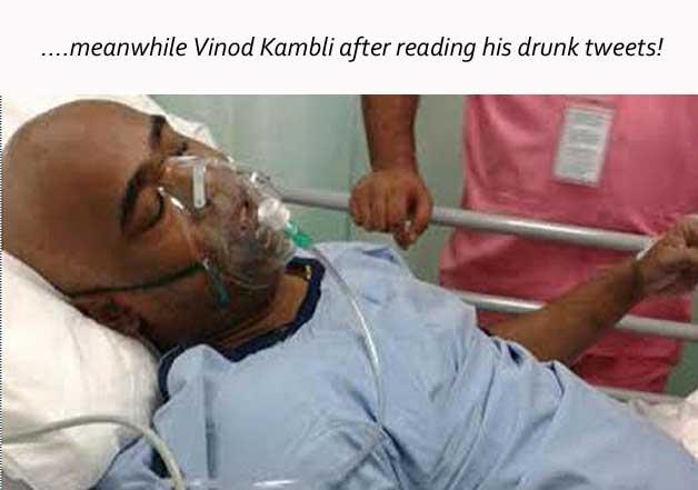vinod kambli viral images on twitter