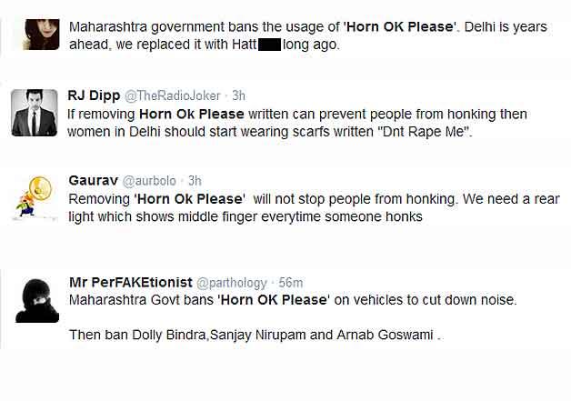 horn ok please reaction - indiatv