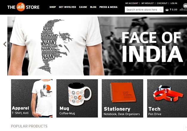 Namo website-IndiaTV