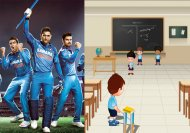 What if Cricket teams were actually students in classrooms!