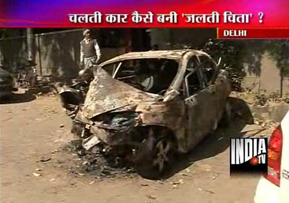 Afghan National Burnt In Delhi Car Fire, 3 Others Suffer Burns