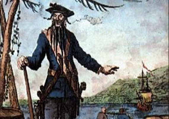 Blackbeard is history's most infamous pirate