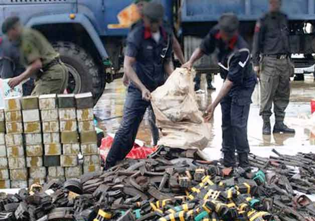 illegal mini gun factory found