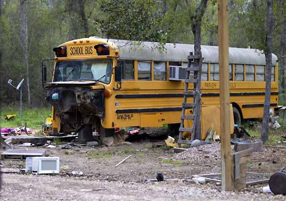 Parents In Jail, Siblings Found Living In Abandoned US School Bus