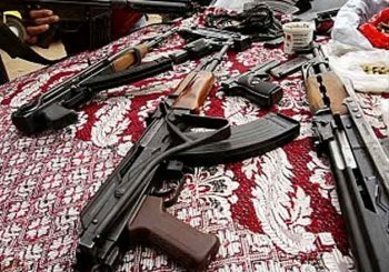 Illicit arms manufacturing gang busted