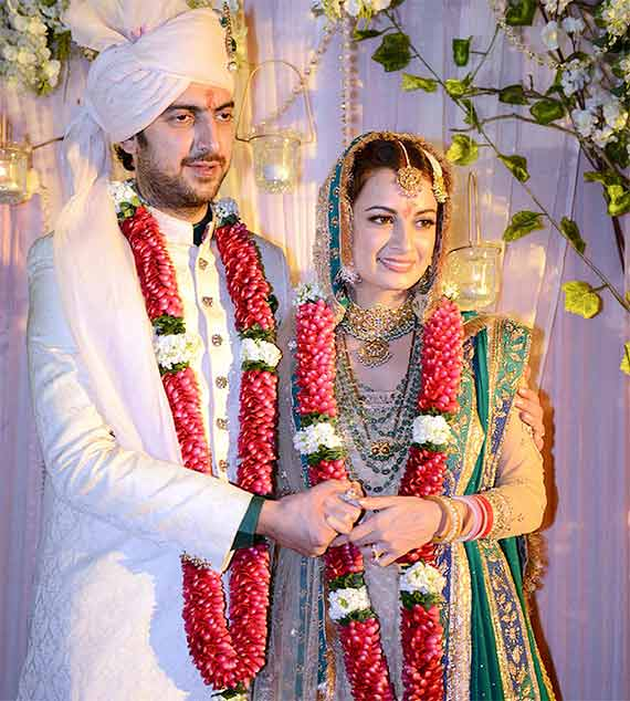 Dia Mirza couple