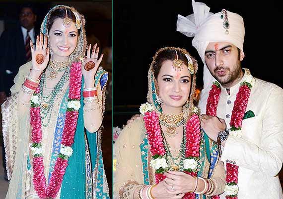 Dia Mirza-Sahil Sangha wedding album