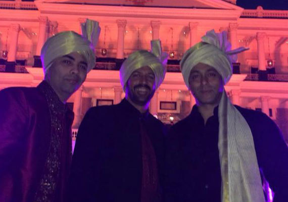 arpita wedding salman karan johar and kabir khan