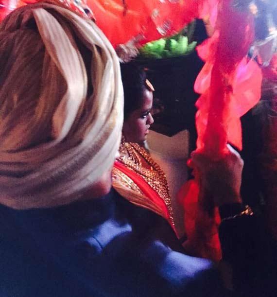 arpita khan picture before varmala