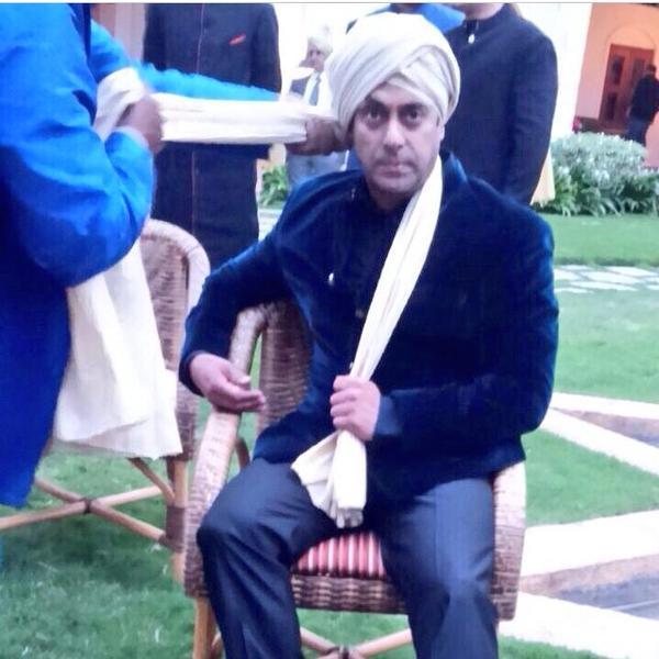 salman khan turban for arpita khan wedding