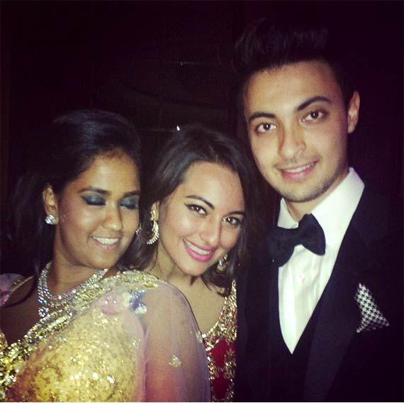 Arpita Khan reception