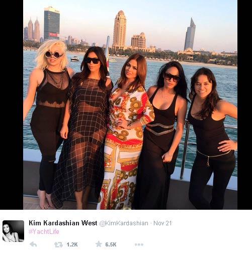 Kim in Dubai