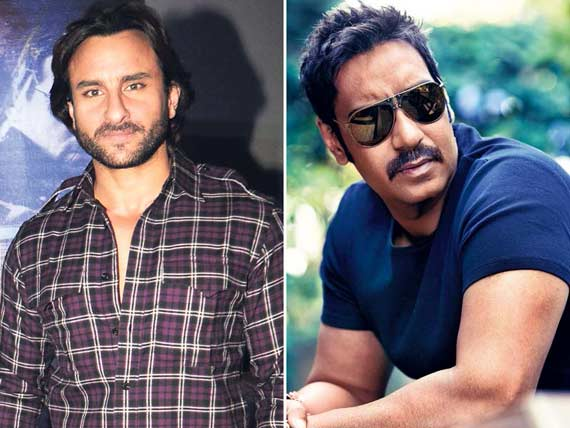 Saif and Ajay income