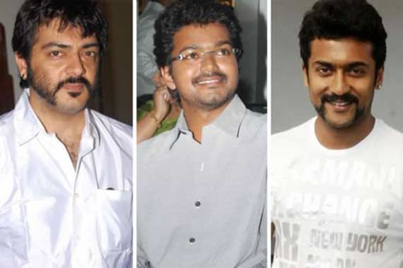 Ajit Vijay and Surya income