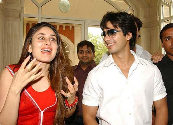 Shahid Kareena in movie together