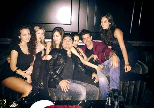 Hrithik Roshan birthday party: Chopra sisters join the celebration ...
