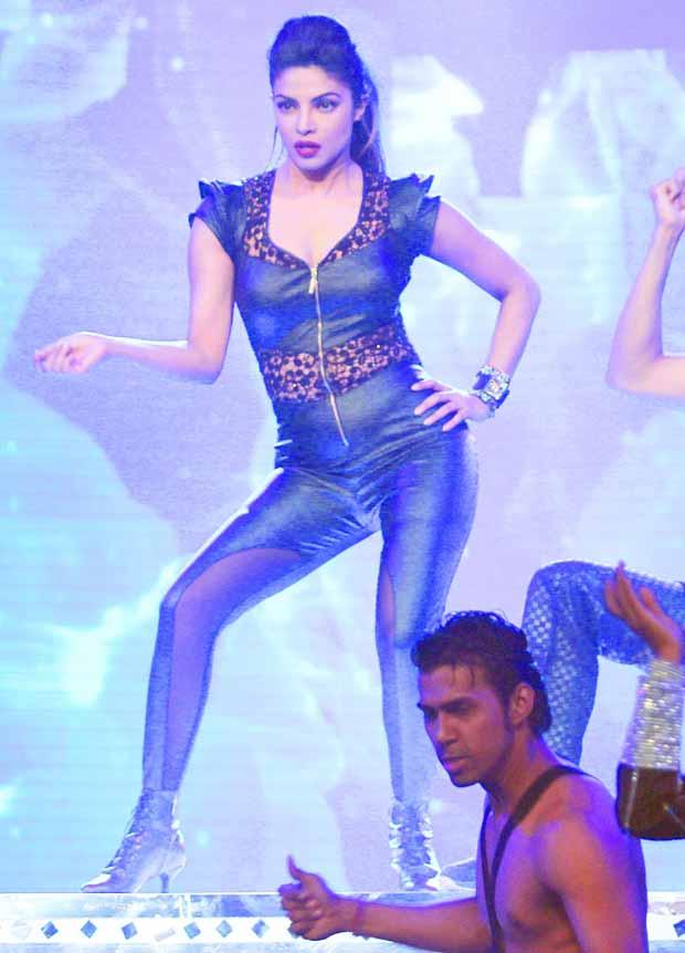Priyanka Chopra Performing