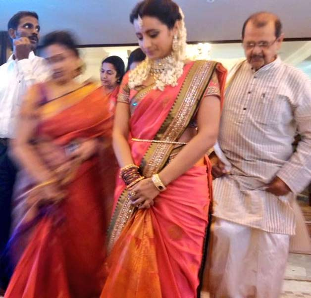 actress trisha krishnan finally engaged to varun manian