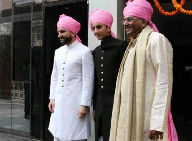 Saif Ali Khan at Soha Kunal wedding