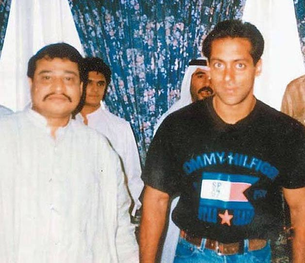 Image result for Dawood Ibrahim with bollywood actors