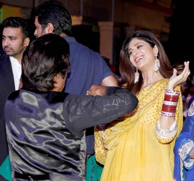 Shilpa Shetty at Baisakhi event