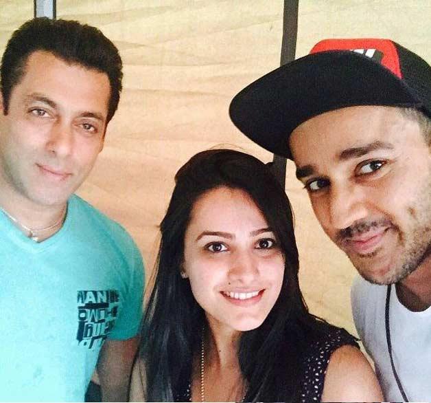 Salman Khan with Shagun