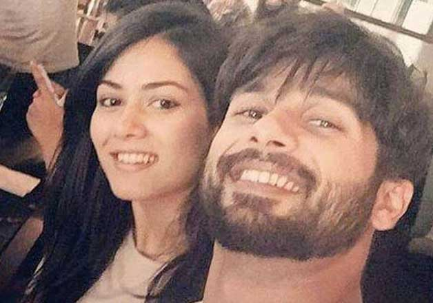 shahid kapoor mira rajput honeymoon selfie