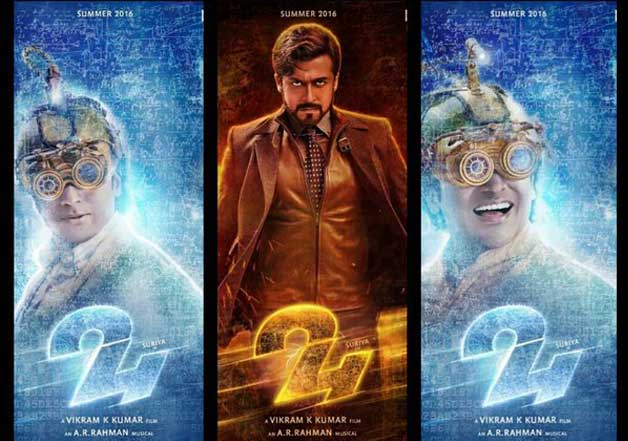 First look posters of suriyas 24 released twitter gets suriya 24 posters the first look altavistaventures Images