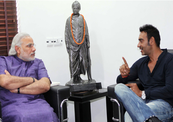 Ajay Devgan meets Narendra Modi, discusses solar projects