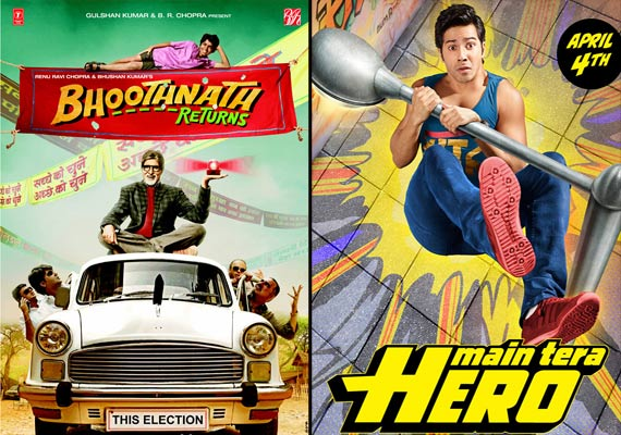 Bhoothnath Returns collects Rs 18.02 cr in three days, Main Tera Hero takes backseat