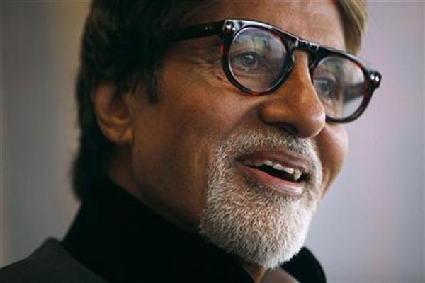 Big B finally reveals his granddaughter's name