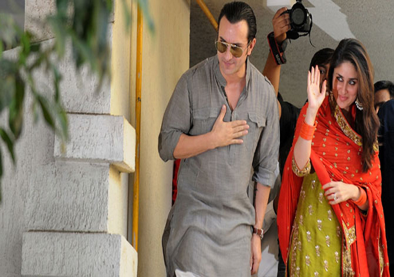 Bollywood stars glitter at Saif, Kareena wedding reception