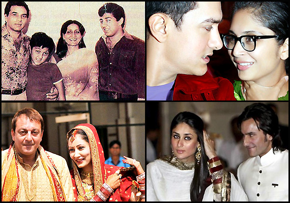 Bollywood's second hand marriages! (view pics)