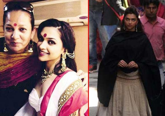 Deepika Padukone's elegant look in 'Ramleela' out (view pics)