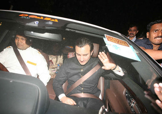 From Bollywood biggies to politicians attend Saif-Kareena's reception