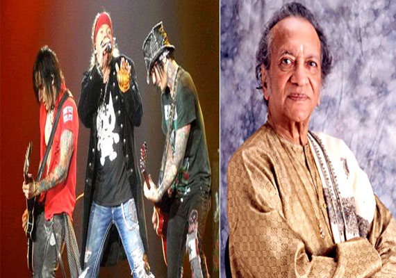 Guns N Roses pay tribute to Pandit Ravi Shankar