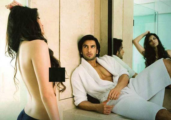Bigg Boss 8: When Sonali Raut went topless for Ranveer Singh
