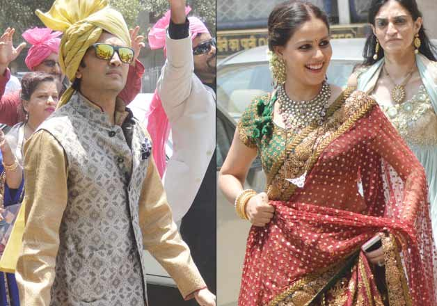 Genelia DSouzas Brother Nigel Got Married