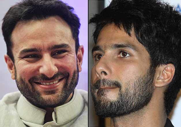 Saif Ali Khan Shahid Kapoor Saif Ali Khan Excited to Work