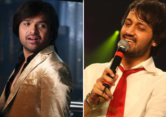 It's Himesh Vs Atif Aslam In Geo TV Musical Contest