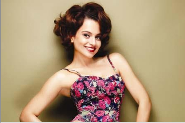 Kangana Ranaut to play the 'Queen'