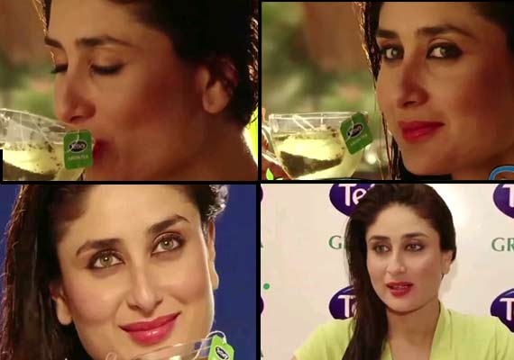 Kareena Kapoor becomes the face of Tetley Tea (watch ad)