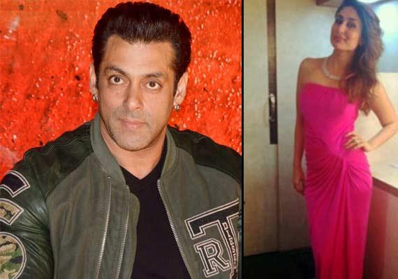Katrina is Kareena's sis-in-law, so Kareena is my sister, says Salman Khan (view pics)