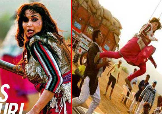 Madhuri Dixit's first look in Gulab Gang out (view pics)