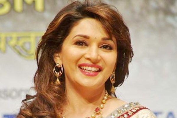 Madhuri Dixit draws 'ire' of Maha politicians