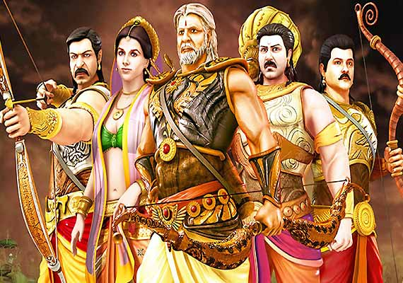 Mahabharat 3D movie review: Animation arrested